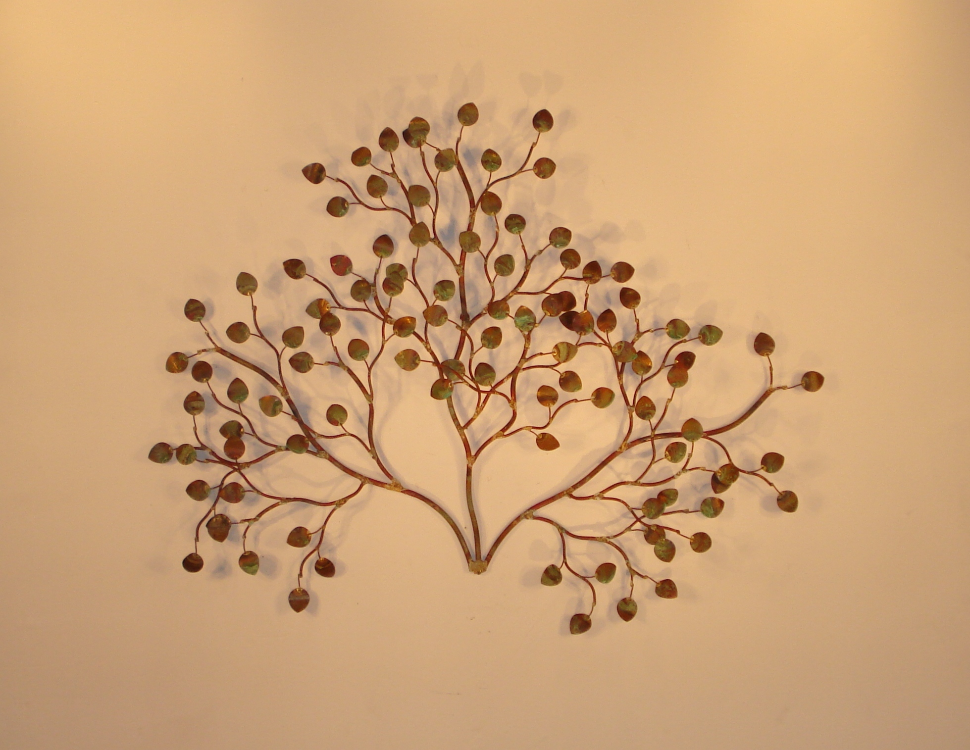 Metal Wall Art and Wall Décor - Leaves - Gurtan Designs