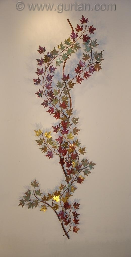 Grape Vine Metal Wall Art Metal Wall Decor Sculpture