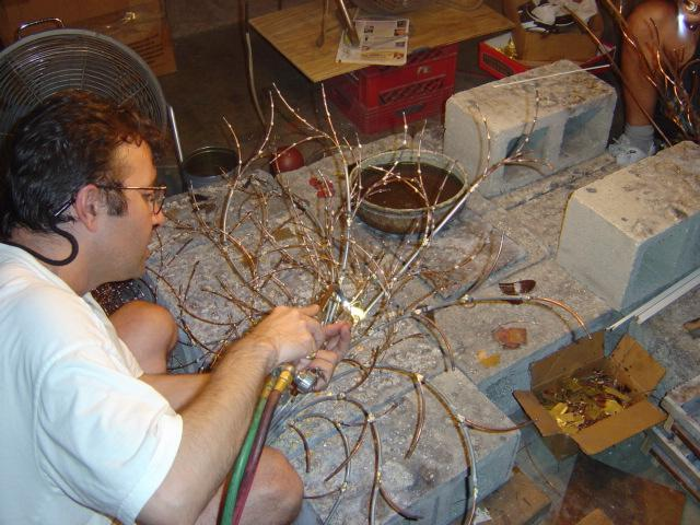 Vedat Gurtan Making Metal Wall Art