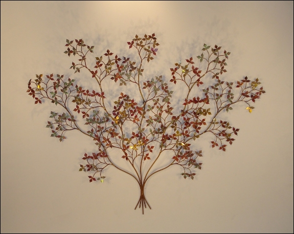 April Branch Metal Wall Decor Art Indoor