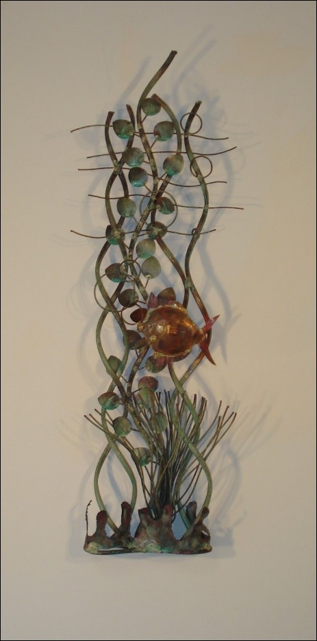 Aquatic Garden Metal Wall Art