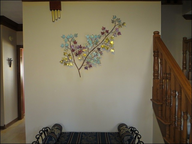 Our Maple Leaves design in this beautiful home in Greenwood Indiana