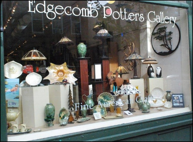 Edgecomb Potters Gallery Maine Metal Wall Decor Gallery