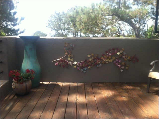 Grape Vine Metal Wall Art Del Mar