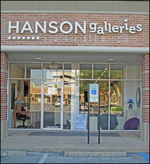 Hanson Galleries Houston Texas Metal Wall Art Gallery