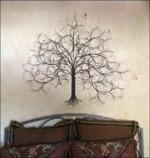 March tree black with leaves at San Francisco home. Home Decor